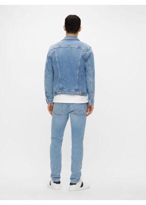 J.Lindeberg Ran Sky Wash Denim Jacket Light Blue