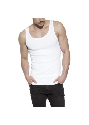 Bread & Boxers Tank Ribbed White