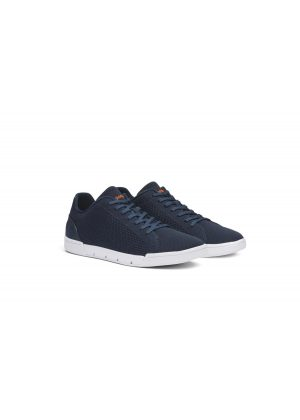 Swims Breeze Tennis Knit Navy/White