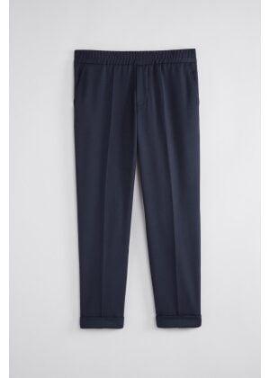 Filippa K Terry Cropped Trouser Navy