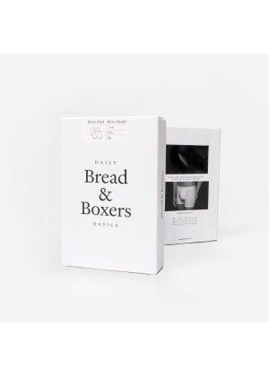 Bread & Boxers 2-Pack Boxer Brief Micro Modal Black