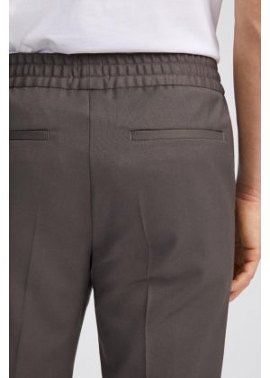 Filippa K Terry Cropped Trouser Taupe