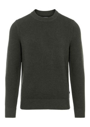 J.Lindeberg Oliver Structure Sweater Seaweed Green