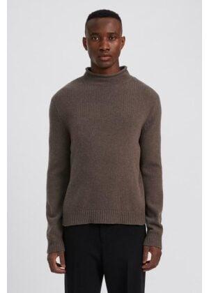 Filippa K Milo Sweater Dark Taupe Melange