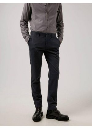 J.Lindeberg Chaze Flannel Twill Pants Dark Grey