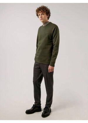 J.Lindeberg Chip Crew Neck Sweatshirt Seaweed Green