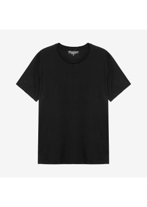 Bread & Boxers Crew Neck Relaxed Black